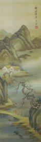 金井烏洲四幅対「四季山水図」