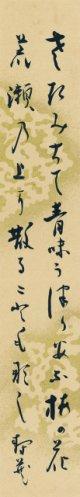 鹿児島寿蔵短冊「さきみちて」