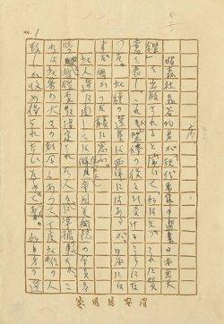 画像1: 石井柏亭草稿「現代日本画大鑑 序」