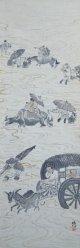 冨田渓仙画幅「渡川図」
