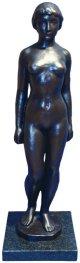 舟越保武ブロンズ「裸婦立像」