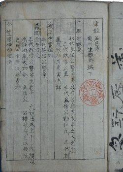 画像1: 津軽名臣伝 奥州津軽郡城下