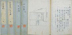 画像1: 茶道関係写本 客方記・不審庵三畳半図他6冊